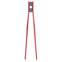 Silicone Tweezer Tongs Red 29cm