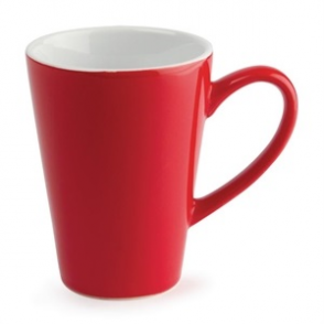 Olympia Café Latte Cups Red 340ml 12oz (12pp)