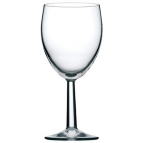 Saxon Nucleated Wine Goblets 340ml CE Marked at 125ml 175ml and 250ml (48PP)