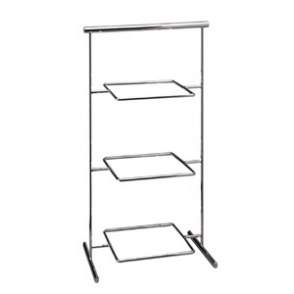 APS Pure Melamine Chrome Serving Stand