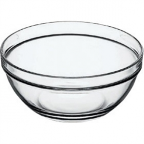 Chefs Glass Bowl 260mm (6per case)