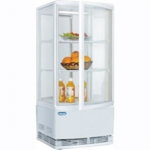 Polar Chilled Display with 2 Curved Glass Doors
