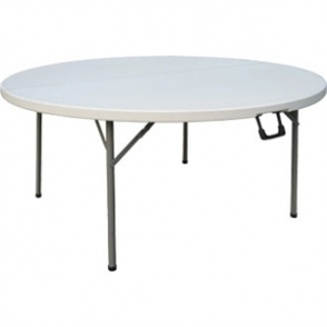 Bolero Round Centre Folding Table - 5ft