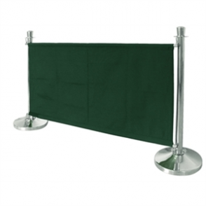 Bolero Green Banner with St/St Fixings