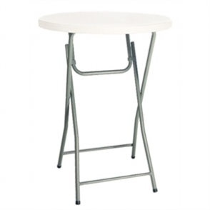 Bolero Foldaway Poseur Table - 800mm