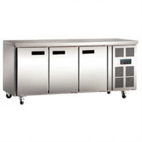 Polar Counter Gastro Freezer 3 Doors - 417Ltr (M)