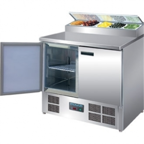 Polar Refrigerated 2 Door Counter Salad/Pizza Preparation (M)