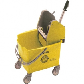 Rubbermaid Combo Mop Bucket & Wringer 25Ltr Yellow