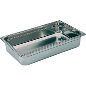 Bourgeat Stainless Steel 1/1 Gastronorm Pan 150mm