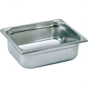 Bourgeat Stainless Steel 2/3 Gastronorm Pan 100mm