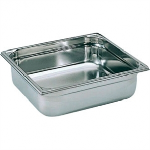Bourgeat Stainless Steel 1/2 Gastronorm Pan 100mm