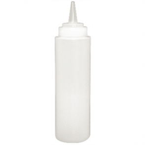 Vogue Clear Squeeze Sauce Bottle 8oz