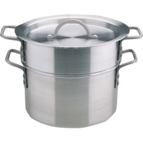 Vogue Double Boiler No Spout (incl Lid) - 4Ltr