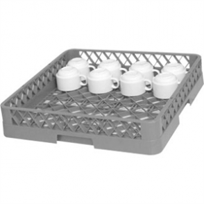 Vogue Dishwasher Open Cup Basket/Rack - 500x500mm