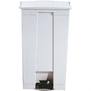 Step-On Containers - White 87 Litre