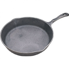 Vogue Round Cast Iron Skillet Pan 8''