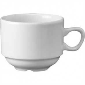 White Nova Tea Cup - 7.5oz (Box 24)