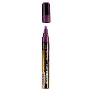 Purple Chalkboard Marker Pen - 6mm Line
