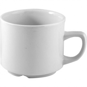 White Maple Tea Cup - 7oz (Box 24)