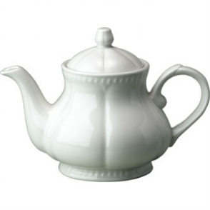 Churchill Buckingham White Teapots 600ml (Box 6)