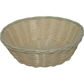 Poly Wicker Round Food Basket 70h x 200ø