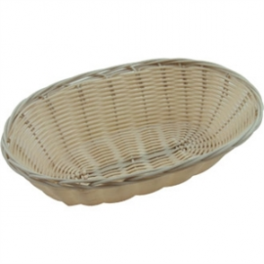 Poly Wicker Oval Food Basket 60h x 230w x 160d