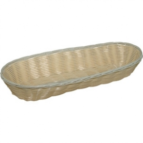 Poly Wicker Baguette Basket 70h x 360w x 150d