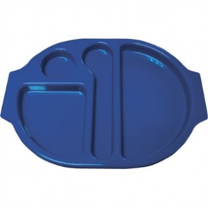 Food Compartment Trays Standard. Pack quantity: 10. Blue