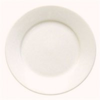 Olympia Ivory Wide Rimmed Plate 25cm 10 (Box 12)