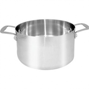 Vogue Tri-wall Stew Pan St/St - 9.5Ltr 280x155mm