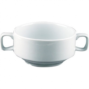 Soup Bowl With Handles  400ml 14oz (Box 6)