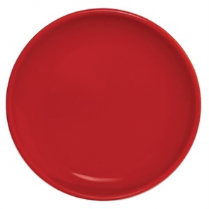 Olympia Cafe Coupe Plate Red 200mm 12pp