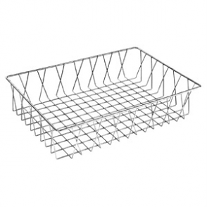 Olympia St/St Wire Display Basket 450 x 300 x 100mm