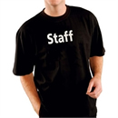 Kitchen Team 'Staff T-Shirt Black - Size S-XL