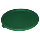 Round Lid For 2 to 4Ltr Containers Green