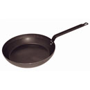 Vogue Black Iron Fry Pan