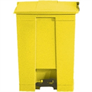 Rubbermaid Step-On Container Yellow - 45.5Ltr
