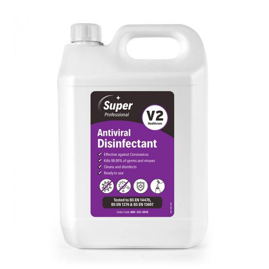 V2 Antiviral Disinfectant Ready to Use 5 litre