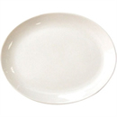 Olympia Ivory Oval Coupe Plate 20cm 8 (Box 12)
