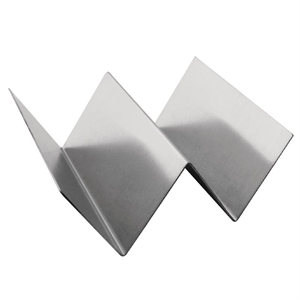 Taco Holder Stainless Steel - 135x114x55mm