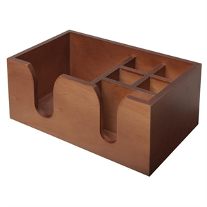 Solid Wood Bar Caddy