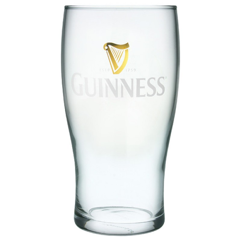 Guinness Pint Glass Original Style (24 per case)