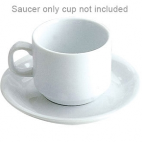 Stacking Saucer -Fits 200ml Stacking Teacups CB467 (Box 12)