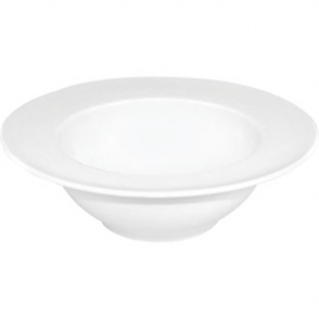 Olympia Whiteware Wide Rim Bowls 228mm 710ml 25oz (Box 4)
