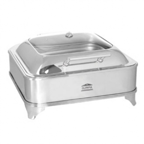 Olympia Electric Chafer Square Glass Lid
