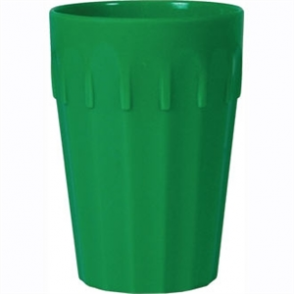 Kristallon Polycarbonate Tumblers Green 260ml (Box 12)