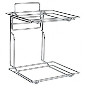 Double Decker Chrome Plated Stand with 2 Tier for 1/2 GN  (Stand Only) for CB801