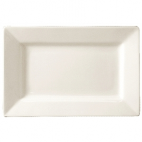 Wide Rime Rectangular Plate 200x 130mm (Box 6)