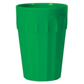 Kristallon Polycarbonate Tumblers Green 142ml (Box 12)