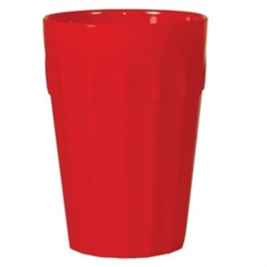 Kristallon Polycarbonate Tumblers Red 142ml (Box 12)